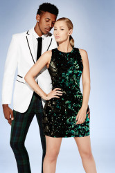 Iggy Azalea & Boyfriend Nick Young Pose For Forever 21 Holiday 2014 Ad Campaign 2