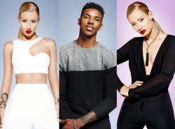 Iggy Azalea & Boyfriend Nick Young Pose For Forever 21 Holiday 2014 Ad Campaign