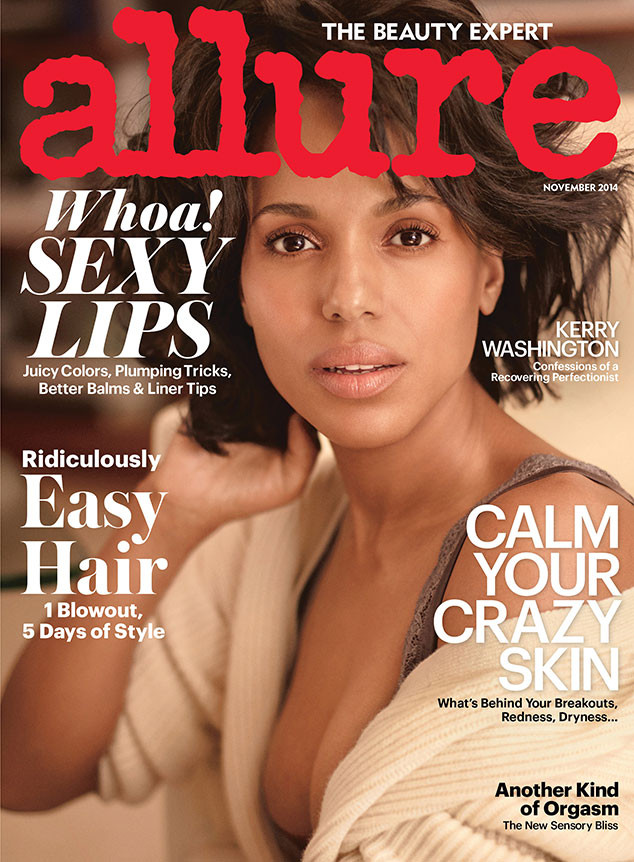 Kerry Washington Looks Flawless On The Cover Of Allure's November 2014 Issue