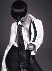 Nicki Minaj Works L'Uomo Vogue In Menswear Fashion 3