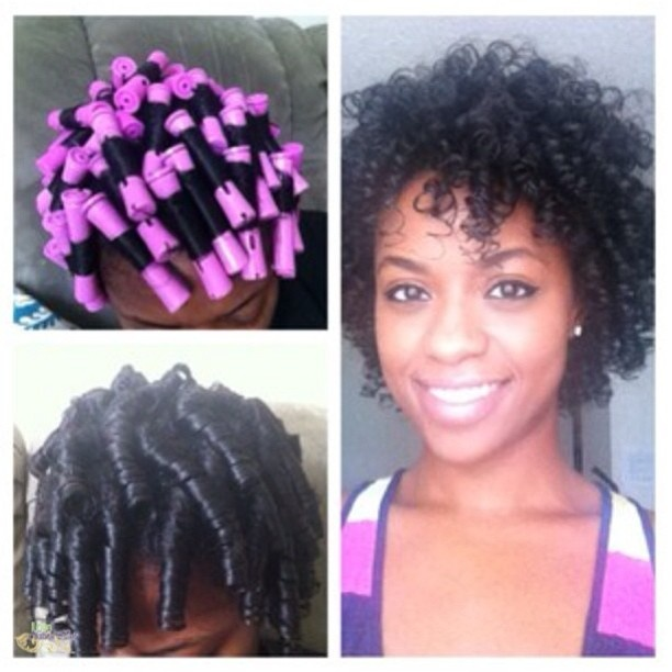 Natural Hair Flexi Rods Pinterest