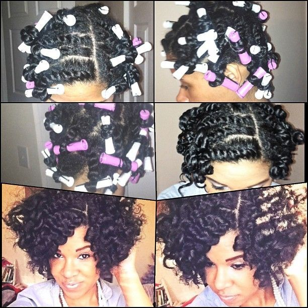 Perm Rods Hair Inspirations From Pinterest