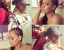 La La Anthony Shows Off Side Braided Hairstyle 2