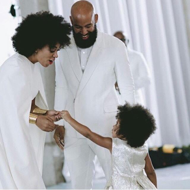 Natural Hair Love - Solange and Blue Ivy Show Off Fros At the Wedding