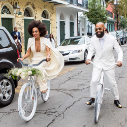 Solange Rocks Gorgeous Afro On Her Wedding Day 10