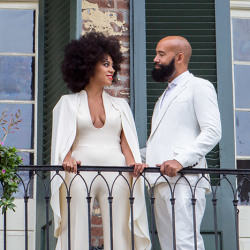 Solange Rocks Gorgeous Afro On Her Wedding Day 11