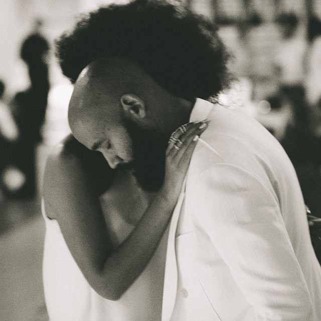 Solange Rocks Gorgeous Afro On Her Wedding Day 5