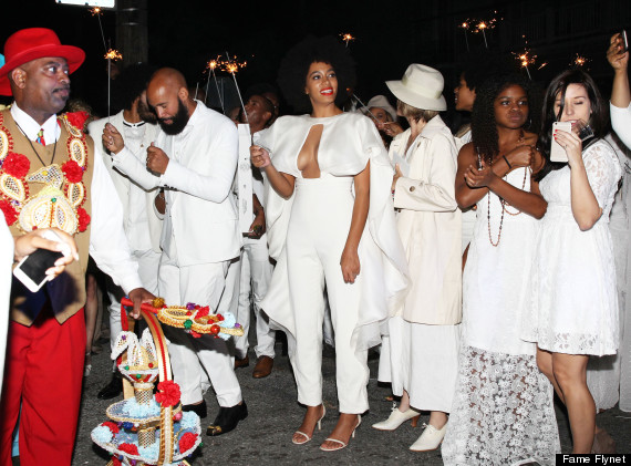 Solange Knowles & Alan Ferguson Take Their Wedding Party To The French Quarter