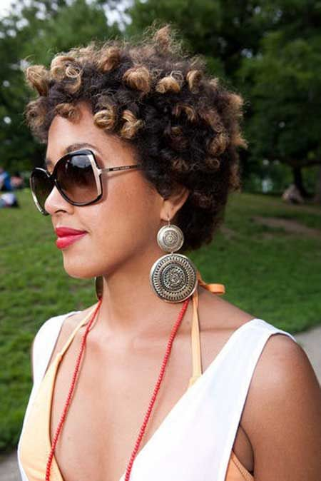 Pleasant 2015 Natural Hairstyles For African American Women The Style Hairstyle Inspiration Daily Dogsangcom