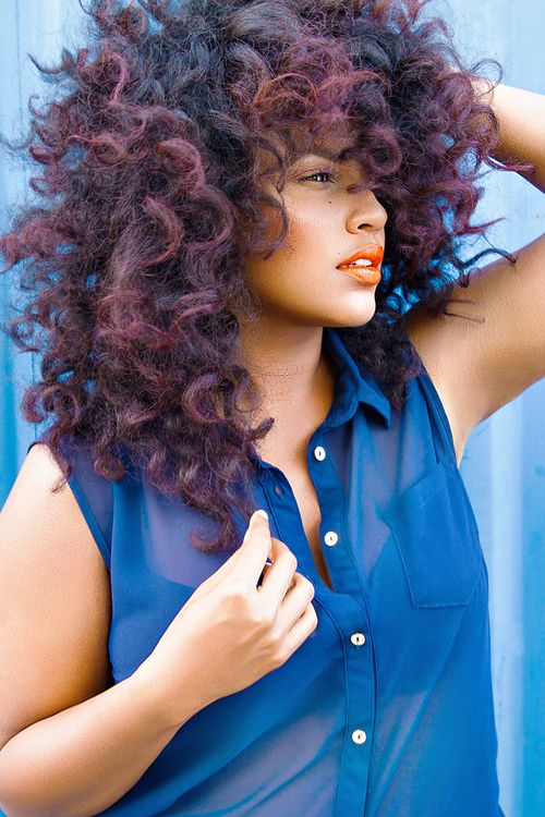 NATURAL HAIRSTYLES 2015 | Color Hairstyle