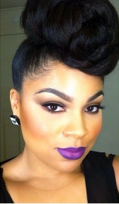 natural Hairstyles makeup look  5 Natural 50 Women For African 2015 over American for