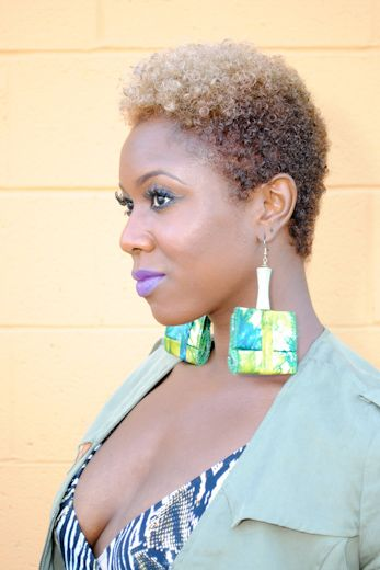 Shaped & Tapered Natural Hair Cuts – The Style News Network