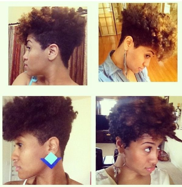 Styling Tapered Natural Hair New Shaped & Tapered Natural Hair Cuts 6  The Style News Network