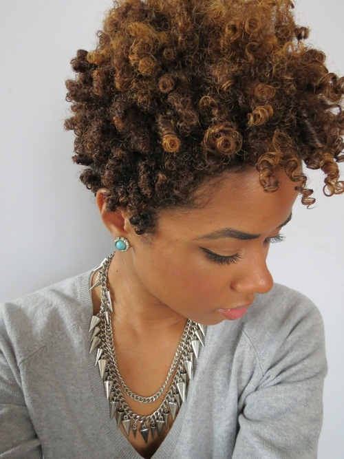 Shaped Amp Tapered Natural Hair Cuts The Style News Network