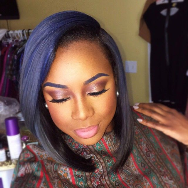 22 Unique Colored Hair Combinations On Black Women That