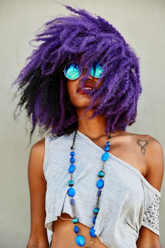 15 Unique Colored Hair Combinations On Black Women That Will Blow Your Mind 12
