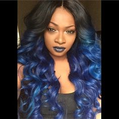15 Unique Colored Hair Combinations On Black Women That Will Blow Your Mind 17