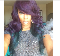 15 Unique Colored Hair Combinations On Black Women That Will Blow Your Mind 21