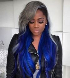 15 Unique Colored Hair Combinations On Black Women That Will Blow Your Mind 3