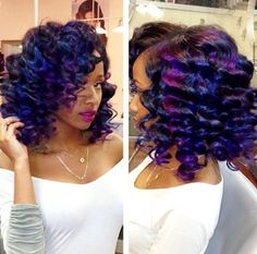 15 Unique Colored Hair Combinations On Black Women That Will Blow Your Mind 5
