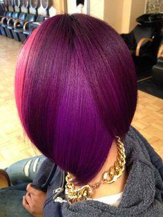 15 Unique Colored Hair Combinations On Black Women That