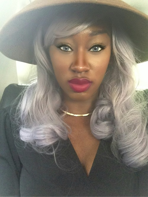 2015 Hair Trends - Black Women Rocking Grey Hair 5