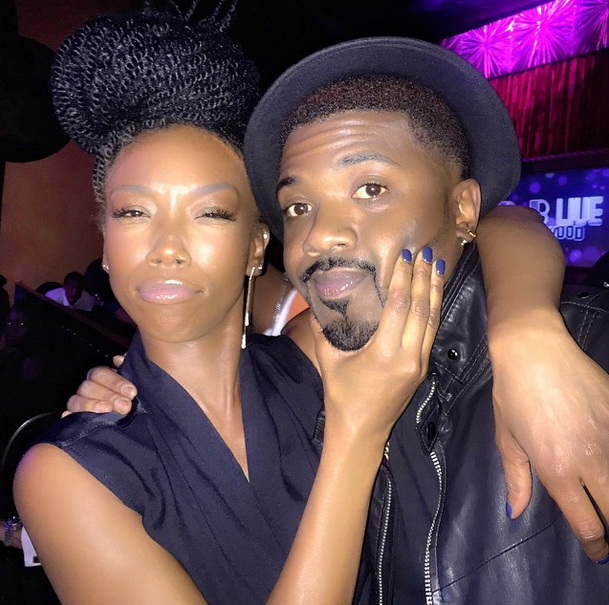 Brandy Instagrams New Hairstyle - Senegalese Twists 4