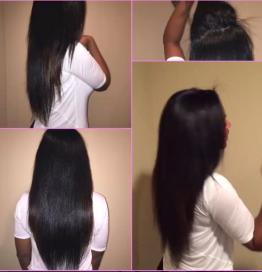Long Hair Lusting - Kenya Moore Shows Off Long Waist Length Hair Via Instagram