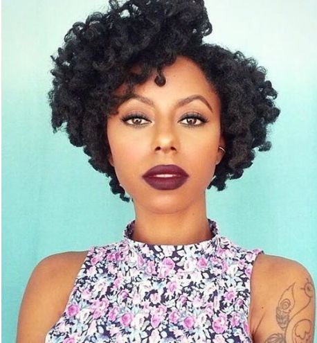 2015 Spring & Summer Natural Hairstyles for Black Women 14