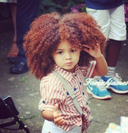 Natural Hairstyles for Kids 14