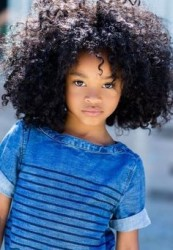 Natural Hairstyles for Kids 2