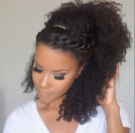 Natural Hairstyles for Prom 18