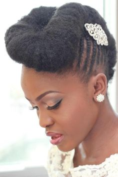 Natural Hairstyles for Prom 5
