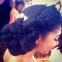 Natural Hairstyles for Prom 7