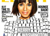 Kerry Washington Shows off Bob With Bangs In Ebony Magazine