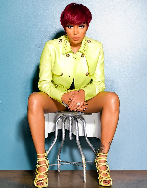 Singer Monica Brown Debuts New Red Haircolor + Pixie Haircut 2