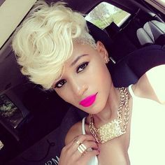 2015 Short Hair Trends & Haircuts for Black Women 10
