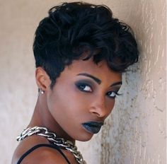 2015 Short Hair Trends & Haircuts for Black Women 12