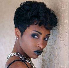 2015 Short Hair Trends & Haircuts for Black Women 12