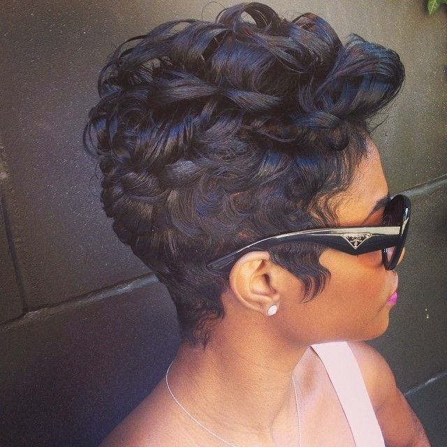 2015 Short Hair Trends & Haircuts for Black Women 2