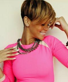 2015 Short Hair Trends & Haircuts for Black Women 22