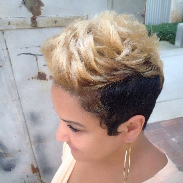 2015 Short Hair Trends & Haircuts for Black Women 8