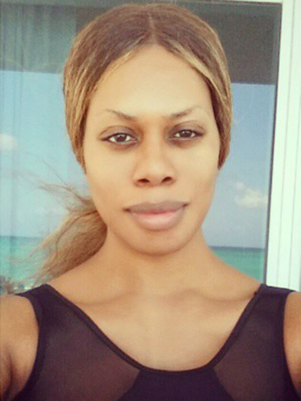 Laverne Cox Without Makeup, Posts Makeup-Free Selfie
