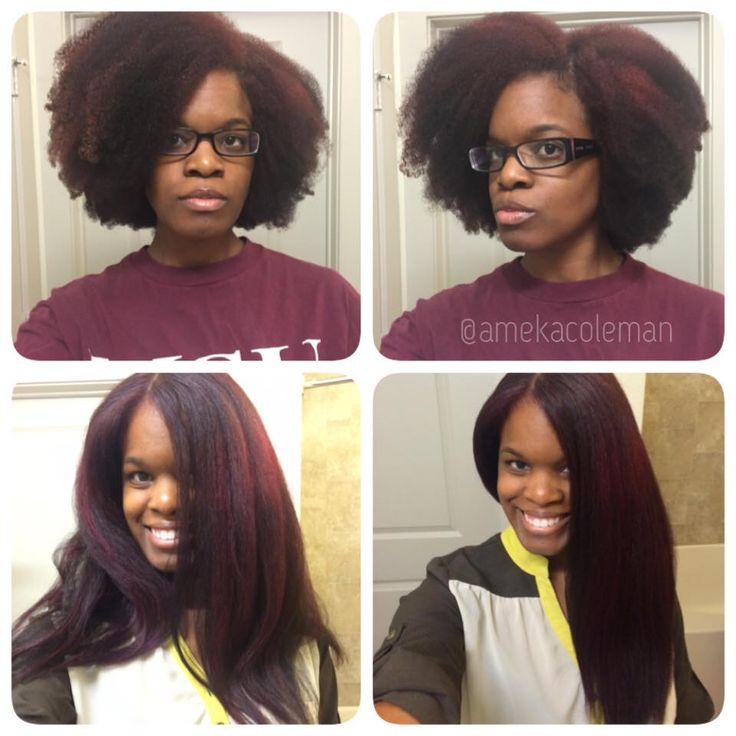 Shrinkage Natural Black Hair