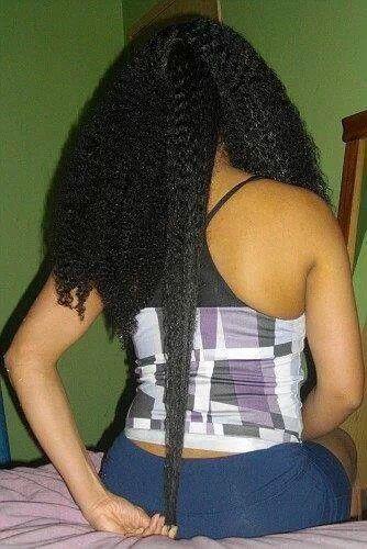 Natural Hair Shrinkage Is Deceiving - 20 Naturals Display Their Truth Hair Length 16