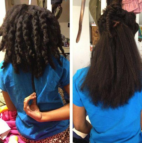 Natural Hair Shrinkage Is Deceiving - 20 Naturals Display Their Truth Hair Length 2