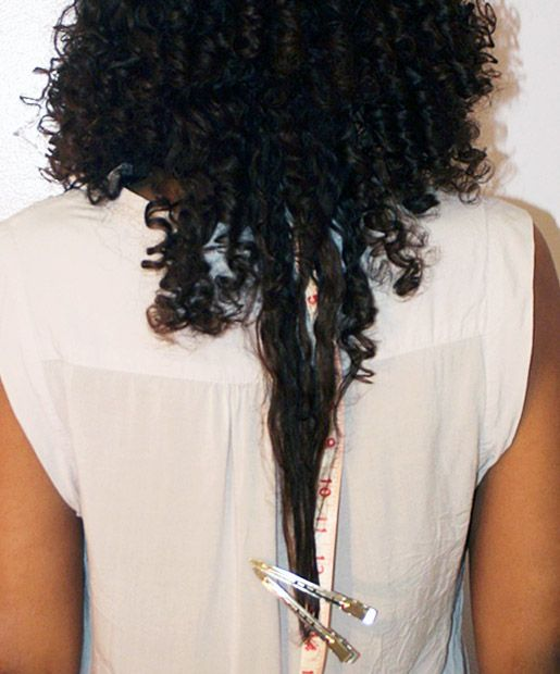 Natural Hair Shrinkage Is Deceiving - 20 Naturals Display Their Truth Hair Length 20