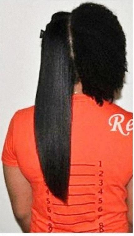 Natural Hair Shrinkage Is Deceiving - 20 Naturals Display Their Truth Hair Length 3