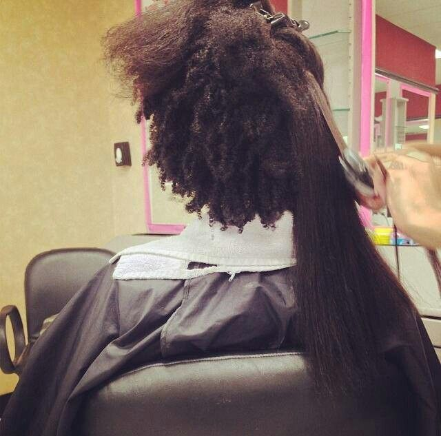 Natural Hair Shrinkage Is Deceiving - 20 Naturals Display Their Truth Hair Length16