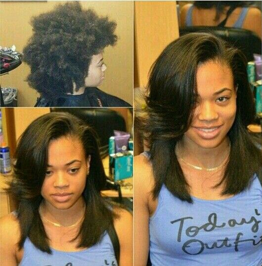 Natural Hair Shrinkage Is Deceiving - 20 Naturals Display Their Truth Hair Length18